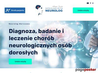 Neurolog Warszawa, Pracownia EMG - dr K. Toruńska