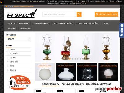 Producent oświetlenia - Szkło Polskie