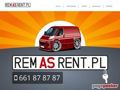 Wypożyczalnia samochodów dostawczych szczecin-Remas Rent