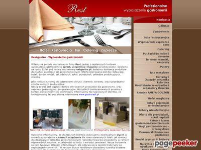 Maszyny i urządzenia gastronomiczne