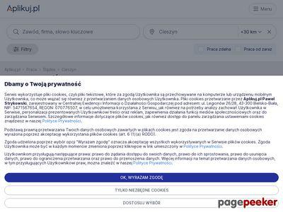 Oferty pracy Cieszyn i okolice