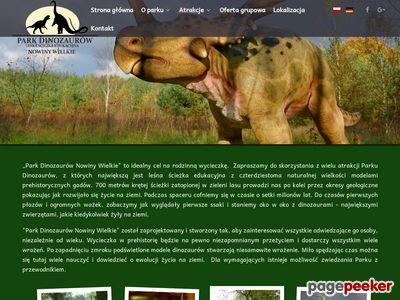 Park Dinozaurów muzeum skamieniałości lubuskie