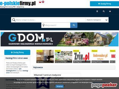 katalog firm bezpłatny e-polskiefirmy.pl