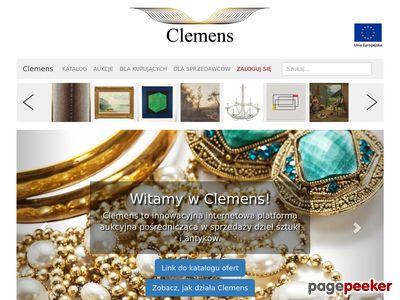 Clemens Internetowy Dom Aukcyjny
